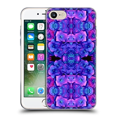 Official Amy Sia Floral Future Blue Soft Gel Case For Apple Iphone 7