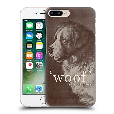 Official Florent Bodart Animals Famous Quote Dog Hard Back Case For Apple Iphone 7 Plus