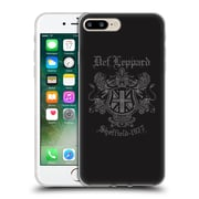 Official Def Leppard Design Sheffield 1977 Soft Gel Case for Apple iPhone 7 Plus