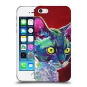 Official DAWGART CATS Devon Rex Soft Gel Case for Apple iPhone 5 / 5s / SE