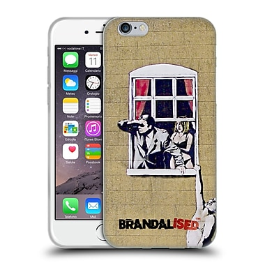 Official Brandalised Banksy Graffiti Hanging Man Soft Gel Case For Apple Iphone 6 / 6S