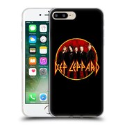 Official Def Leppard Design Photo Soft Gel Case for Apple iPhone 7 Plus