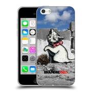Official Brandalised Banksy Textured Art Gaza Kitten Soft Gel Case For Apple Iphone 5C