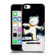 Official Brandalised Banksy Textured Art Molotov Teddy Soft Gel Case For Apple Iphone 5C