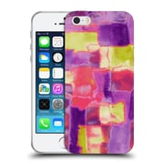 Official Amy Sia Abstract Colours Block Soft Gel Case For Apple Iphone 5 / 5S / Se