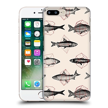 Official Florent Bodart Animals 2 Fishes In Geometrics Hard Back Case For Apple Iphone 7 Plus