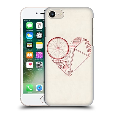 Official Florent Bodart Bikes Love 2 Hard Back Case For Apple Iphone 7