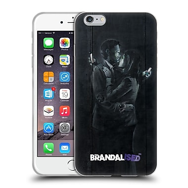 Official Brandalised Banksy Tags Mobile Phone Lovers Soft Gel Case For Apple Iphone 6 Plus / 6S Plus