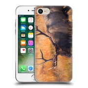 Official DARREN WHITE WILDLIFE Shooting The Bull Soft Gel Case for Apple iPhone 7