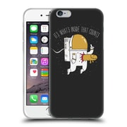 Official Dinomike Fun Illustrations Space Sucks Soft Gel Case for Apple iPhone 6 / 6s