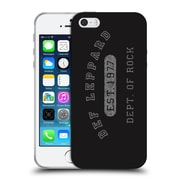 Official Def Leppard Design Dept.Of Rock Soft Gel Case for Apple iPhone 5 / 5s / SE