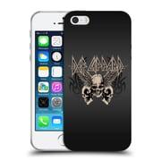 Official Def Leppard Design Skull 1 Soft Gel Case for Apple iPhone 5 / 5s / SE
