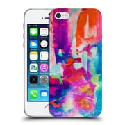 Official Amy Sia Abstract Colours Escape Soft Gel Case For Apple Iphone 5 / 5S / Se