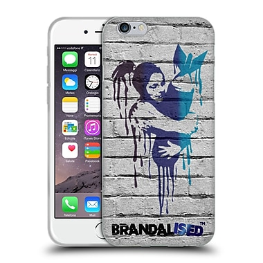 Official Brandalised Banksy Drips Love The Bomb Soft Gel Case For Apple Iphone 6 / 6S
