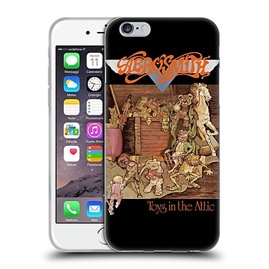 Official Aerosmith Albums Toys In The Attic Soft Gel Case For Apple Iphone 6 / 6S