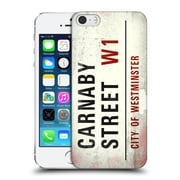 Official City Of Westminster Vintage Street Signs Carnaby Hard Back Case For Apple Iphone 5 / 5S / Se