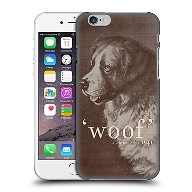 Official Florent Bodart Animals Famous Quote Dog Hard Back Case For Apple Iphone 6 / 6S