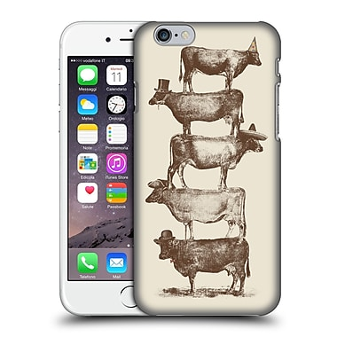Official Florent Bodart Animals 2 Cow Cow Nuts Big Hard Back Case For Apple Iphone 6 / 6S