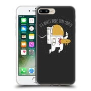 Official Dinomike Fun Illustrations Space Sucks Soft Gel Case for Apple iPhone 7 Plus