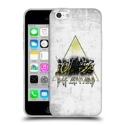 Official Def Leppard Design Triangle Concert Soft Gel Case for Apple iPhone 5c