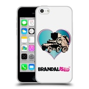 Official Brandalised Banksy Wall Art Tank On Tank Soft Gel Case For Apple Iphone 5C