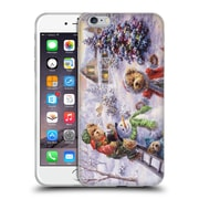 Official Christmas Mix Winter Wonderland Nicky Boehme Fun Loving Merriment Soft Gel Case for Apple iPhone 6 Plus / 6s Plus