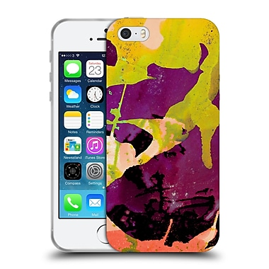 Official Amy Sia Abstract Colours Canarias Soft Gel Case For Apple Iphone 5 / 5S / Se