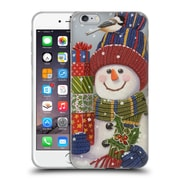 Official Christmas Mix Snowman William Vanderdasson Presents Soft Gel Case for Apple iPhone 6 Plus / 6s Plus
