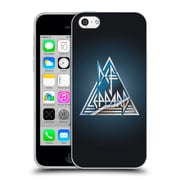 Official Def Leppard Logo Triangle Soft Gel Case for Apple iPhone 5c