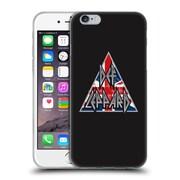 Official Def Leppard Design Target Union Jack Soft Gel Case for Apple iPhone 6 / 6s