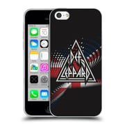 Official Def Leppard Logo Union Jack Soft Gel Case for Apple iPhone 5c
