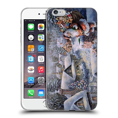 Christmas Mix Winter Wonderland Nicky Boehme Bringing Joy And Happiness Soft Gel Case for Apple iPhone 6 Plus / 6s Plus