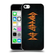 Official Def Leppard Logo Iconic Soft Gel Case for Apple iPhone 5c