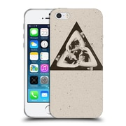 Official Ali Gulec Geometric Triangle Soft Gel Case For Apple Iphone 5 / 5S / Se