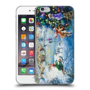 Official Christmas Mix Winter Wonderland Nicky Boehme Joyful Celebration Soft Gel Case for Apple iPhone 6 Plus / 6s Plus