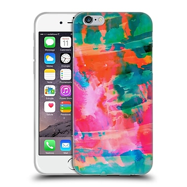 Official Amy Sia Abstract Colours Paradise Soft Gel Case For Apple Iphone 6 / 6S