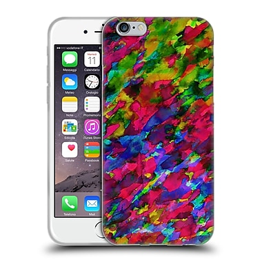 Official Amy Sia Abstract Colours Pink Opal Soft Gel Case For Apple Iphone 6 / 6S