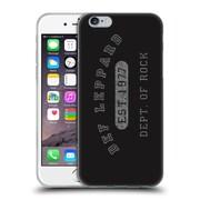 Official Def Leppard Design Dept.Of Rock Soft Gel Case for Apple iPhone 6 / 6s