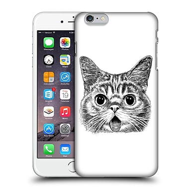 Official Tummeow Cats In Black And White Tongue Out Hard Back Case For Apple Iphone 6 Plus / 6S Plus