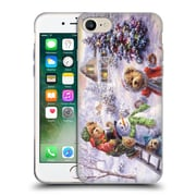 Official Christmas Mix Winter Wonderland Nicky Boehme Fun Loving Merriment Soft Gel Case for Apple iPhone 7