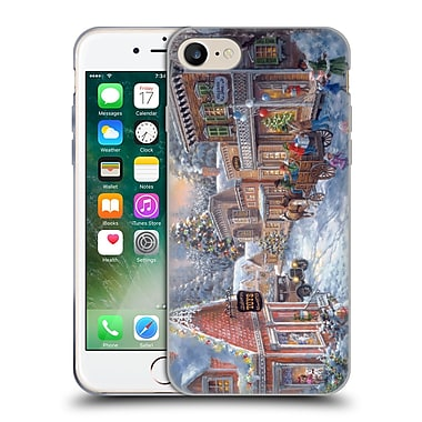 Official Christmas Mix Winter Wonderland Nicky Boehme Good Old Days Soft Gel Case for Apple iPhone 7