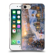 Official Christmas Mix Winter Wonderland Nicky Boehme Cottage 2 Soft Gel Case for Apple iPhone 7