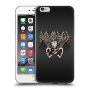 Official Def Leppard Design Skull 1 Soft Gel Case for Apple iPhone 6 Plus / 6s Plus