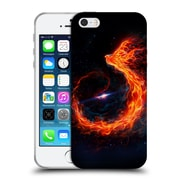 Official Christos Karapanos Phoenix Out Of Space Soft Gel Case for Apple iPhone 5 / 5s / SE