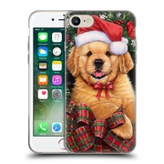 Official Christmas Mix Pets Jenny Newland Puppy Soft Gel Case for Apple iPhone 7