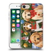 Official Christmas Mix Pets William Vanderdasson Which One's Mine? Puppies Soft Gel Case for Apple iPhone 7