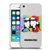 Official Brandalised Banksy Textured Art Heavy Artillery Soft Gel Case For Apple Iphone 5 / 5S / Se
