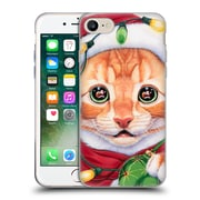 Official Christmas Mix Pets Jenny Newland Uh Oh! Santa! Soft Gel Case for Apple iPhone 7