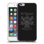Official Def Leppard Design Sheffield 1977 Soft Gel Case for Apple iPhone 6 Plus / 6s Plus