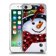 Official Christmas Mix Snowman William Vanderdasson Perched Soft Gel Case for Apple iPhone 7